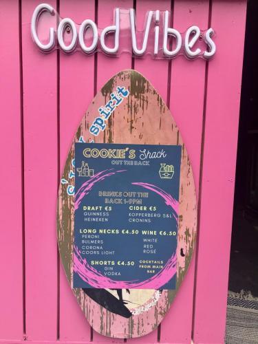 drinks menu shack