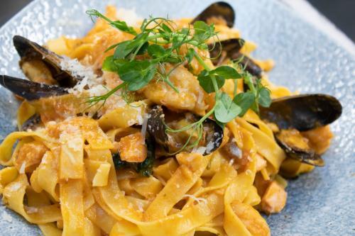 seafood fettuchini