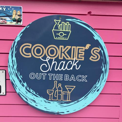 Cookie's Shack -Out the Back